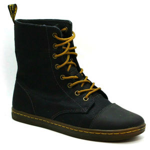 Dr. Martens Womens Hammersmith Black Boots Size 10
